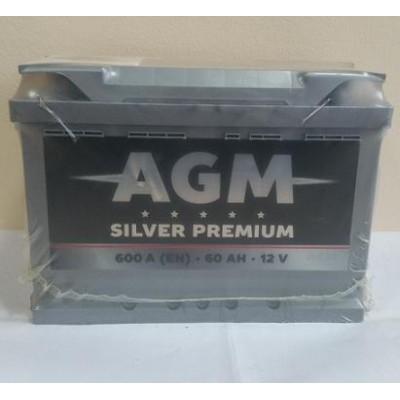 Аккумулятор AGM Silver Premium 60ah