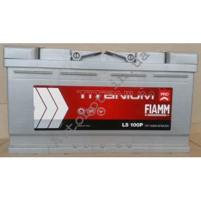 Аккумулятор Fiamm Titanium plus 100ah