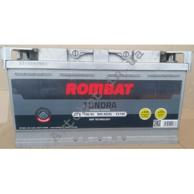 Аккумулятор Rombat tundra100ah