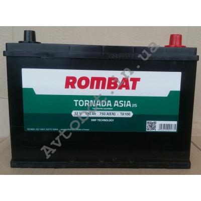 Аккумулятор Rombat tornada asia 100ah