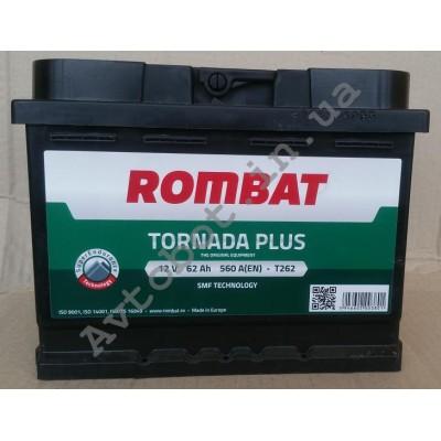 Аккумулятор Rombat tornada plus 62ah