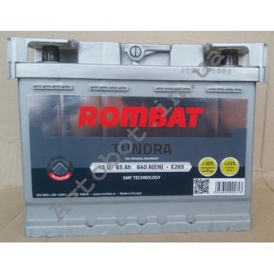 Аккумулятор Rombat tundra 65ah