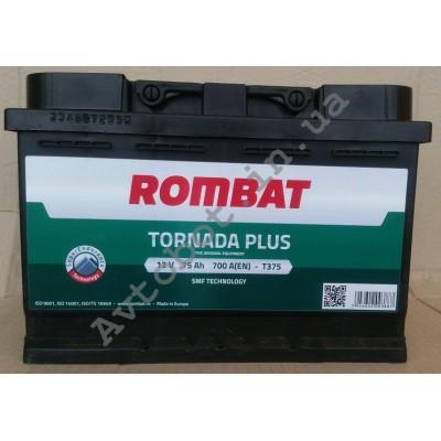 Аккумулятор Rombat tornada plus 75ah