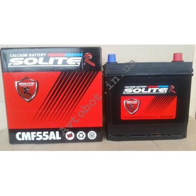 Аккумулятор Solite 56ah азия