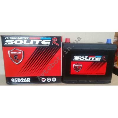 Аккумулятор Solite 80ah азия